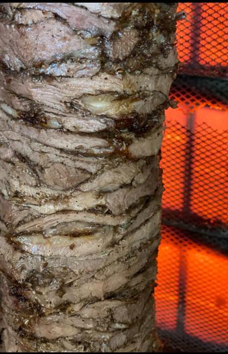 Lamb Shawarma Wrap